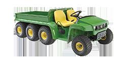 Photo of a green 8 wheeler utility vehicle