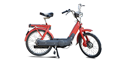 Photo of a moped
