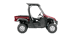 Photo of a red standard utility vehicle