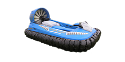 Photo of a hovercraft