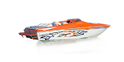 Photo of a speedboat