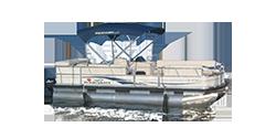 Photo of a pontoon boat