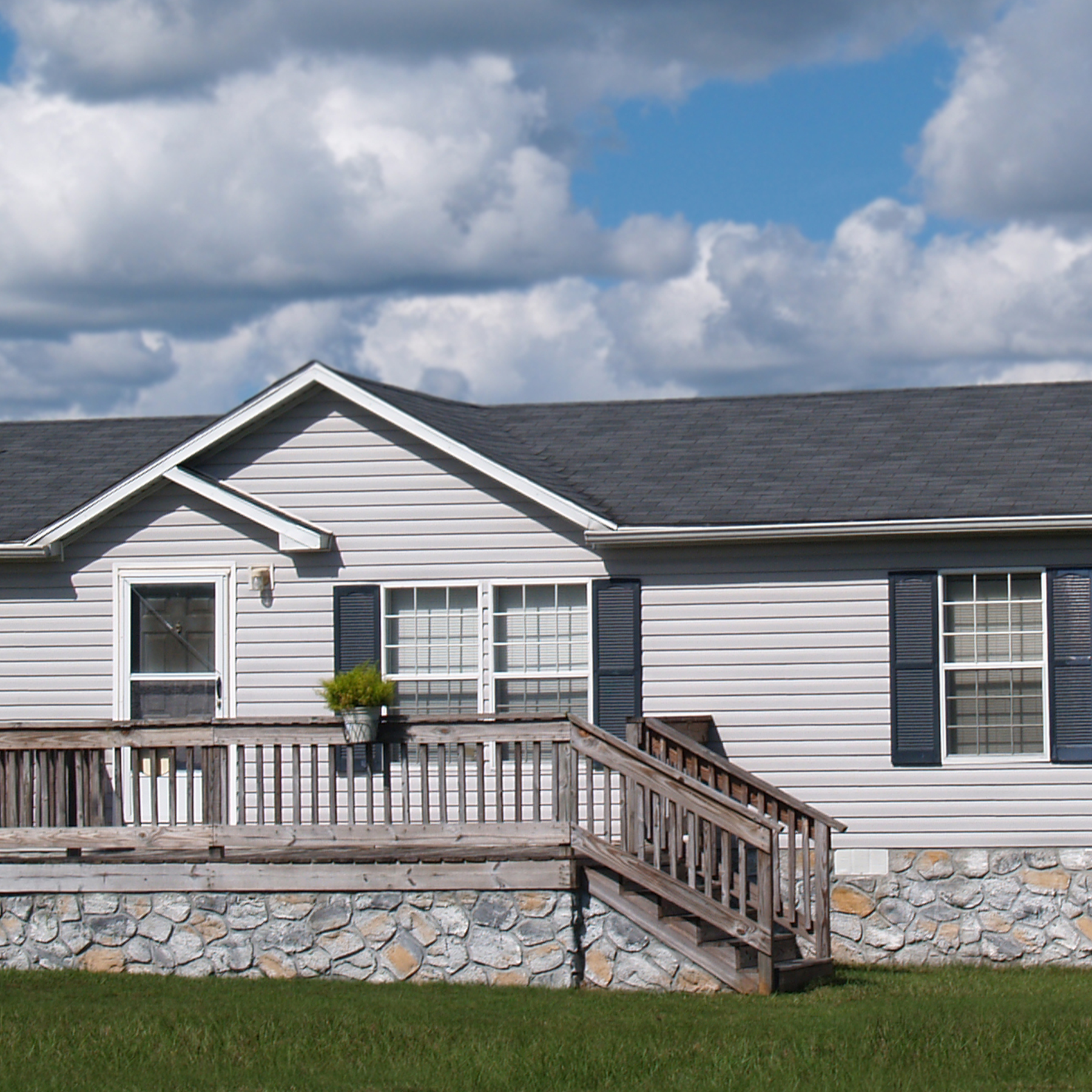 Photo of a manufactured home