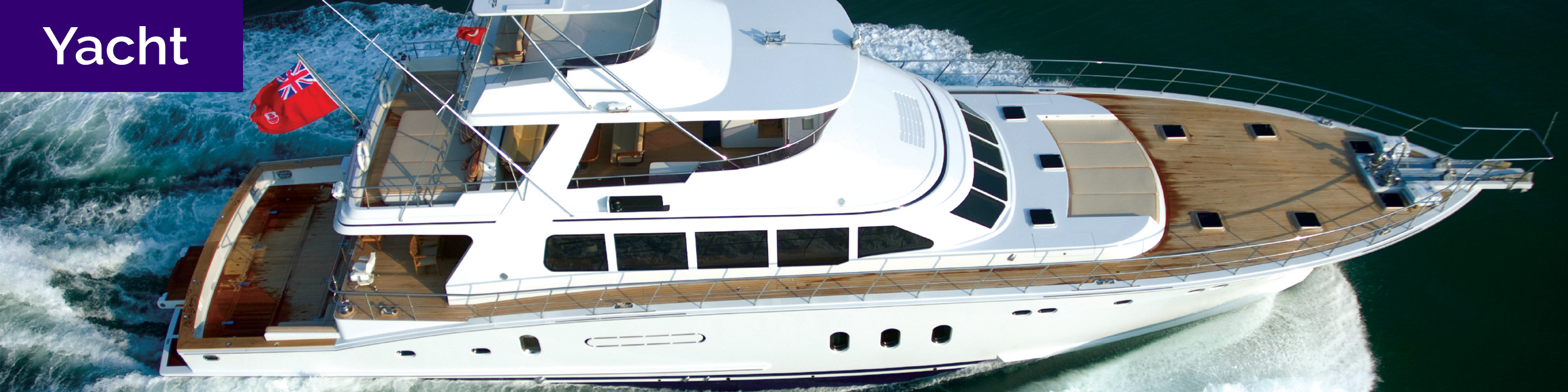 """Text: """"yacht"""" over image of small yacht"""
