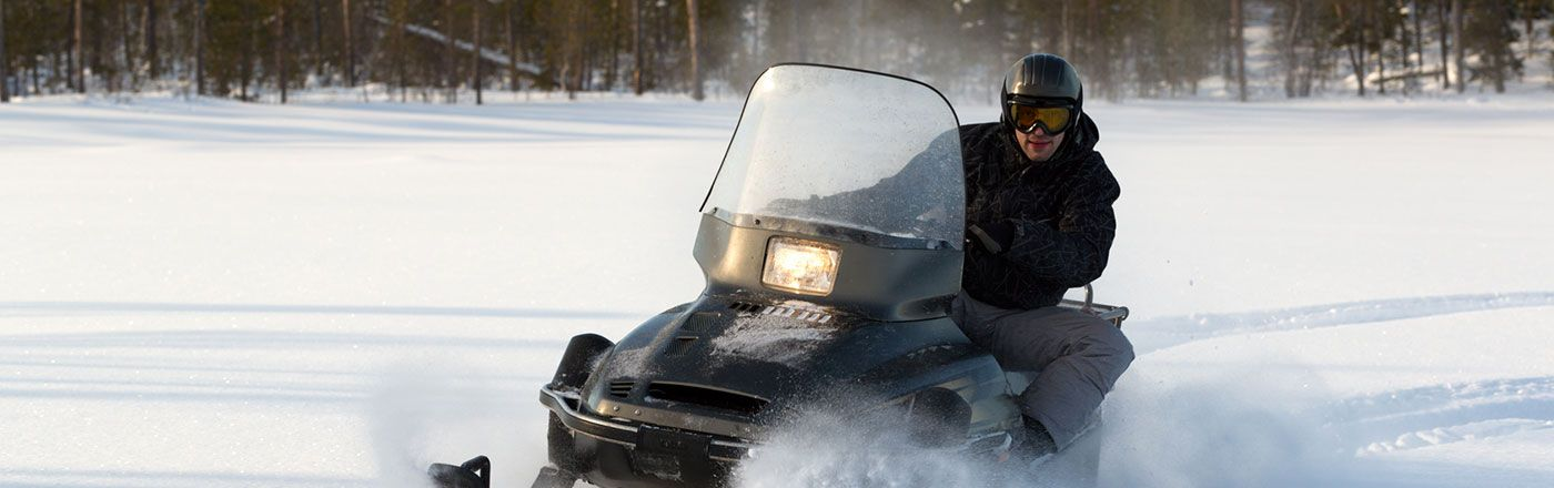 The snowmobile program offers 3 settlement options along with optional coverage for your trailer and medical payments.