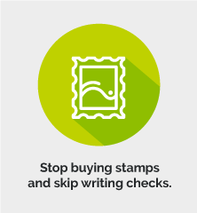 Stop buying stamps