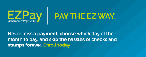 EZPay Automated Payments enroll today!